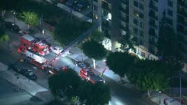 A Southern California firefighter was killed and a second was wounded after an early Monday shooting at a California senior-living apartment complex, officials said.