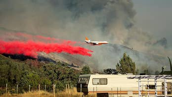 Flames spreading quickly 150 miles north of San Francisco; William La Jeunesse reports from Los Angeles.