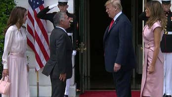 King of Jordan is expected to push to influence President Trump's Middle East peace plan.