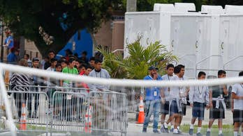 Report: Some immigrant children were sent to shelters with a history of abuse allegations.