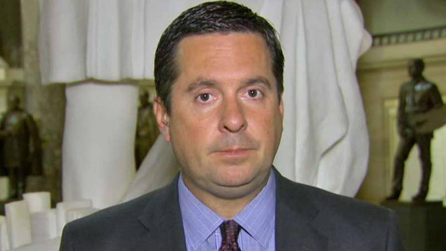 House Intelligence Committee chair speaks out ahead of deadline for agencies to hand over materials on alleged informants inside the Trump campaign.