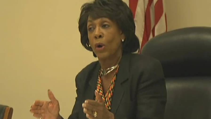 Democratic congresswoman from California holds news conference.