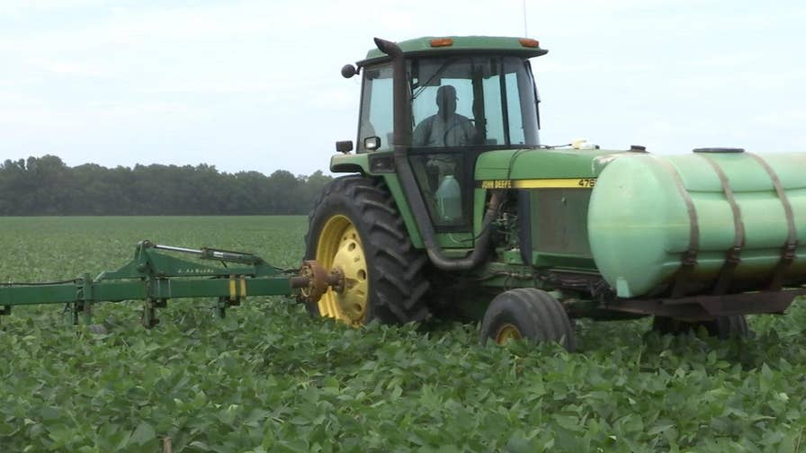 Soybean farmers across the U.S. say they are rethinking their future strategy after the Chinese government announced retaliatory tariffs aimed at their crops. The move was in response to President Trump's plan to place tariffs on Chinese goods for 'unfair trade practices.'