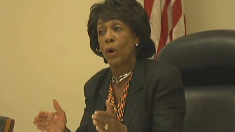 Waters denies encouraging violence against Trump supporters