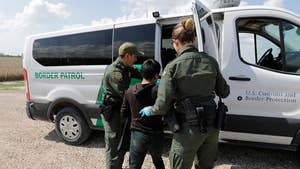 U.S. Customs and Border Protection processing center releasing parents in McAllen, Texas; Bryan Llenas reports from the facility.