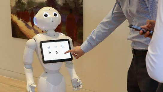 Meet Pepper: HSBC's new banking assistant robot