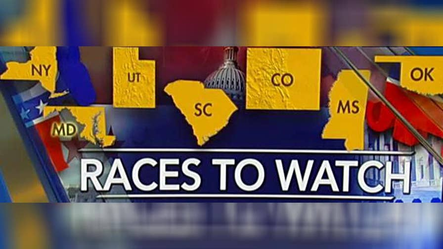 GOP pollster Justin Wallin discusses the races to keep an eye on.