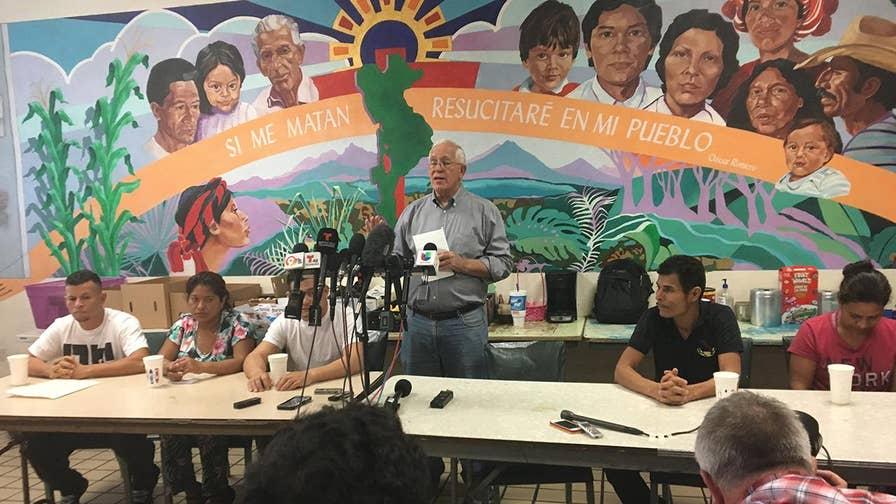 Parents seeking asylum status say they have not spoken to kids.