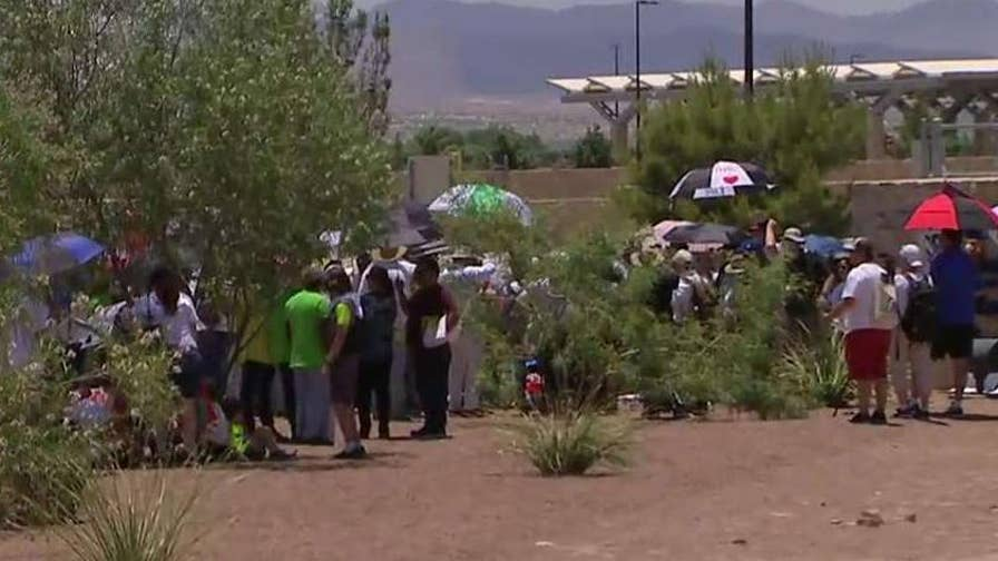 Customs and Border Protection suspends prosecutions of parents at border; Jeff Paul reports from Tornillo, Texas.