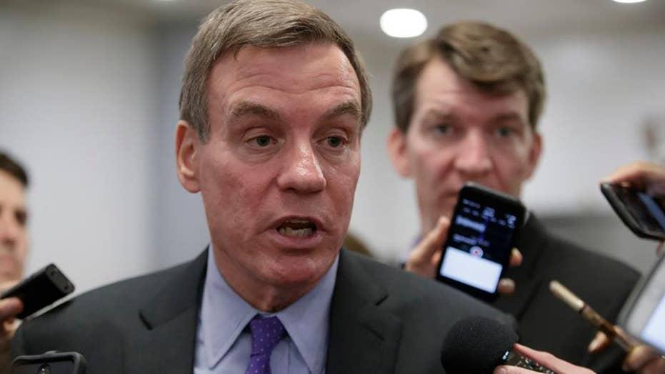 Report: Sen. Warner jokes about revealing Russia probe info