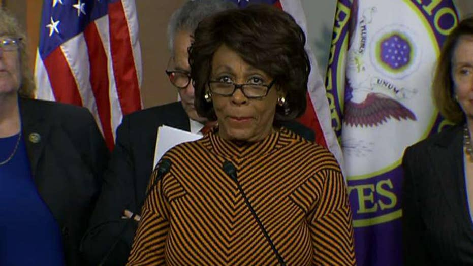 Maxine Waters touts harassment of Trump officials