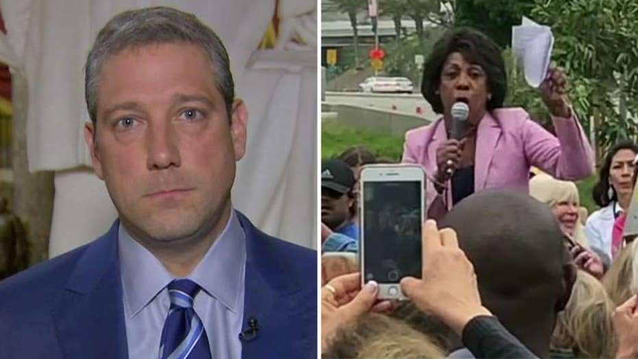 Rep. Tim Ryan on Maxine Waters' comments: Trump started it