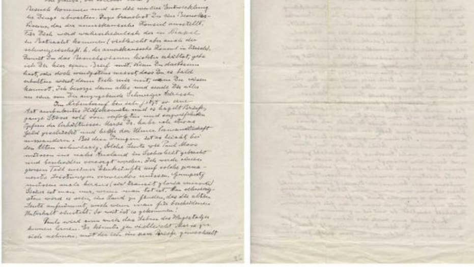 Rare Einstein letters reveal escape from Nazis