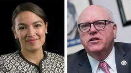 Rep. Joseph Crowley, D-N.Y., tried to ease the tensions between himself and Alexandria Ocasio-Cortez, the insurgent Democrat who defeated the 10-term congressman in last month's primary, after she bashed the incumbent last week for not getting his name off the ballot in the general election.