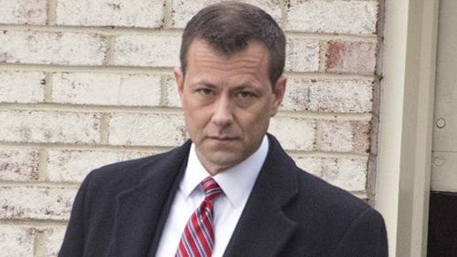 Anti-Trump FBI agent Peter Strzok heads to Capitol Hill for a closed-door interview with House lawmakers; Joe diGenova, former U.S. attorney for the District of Columbia, and Fox News contributor Andy McCarthy join 'Hannity' with reaction.