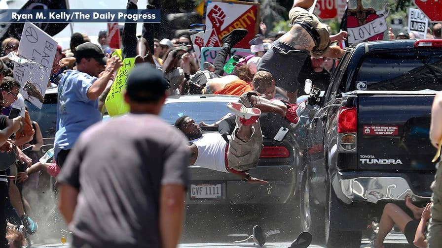 Charlottesville car attack suspect facing more than two-dozen federal hate-crime charges.