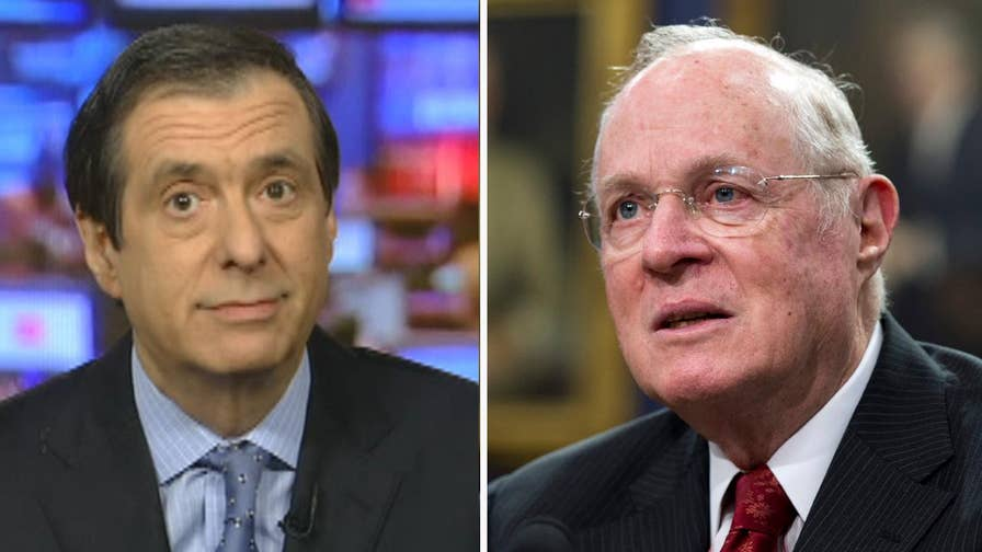 'MediaBuzz' host Howard Kurtz weighs in on the brewing partisan war over Justice Kennedy's Supreme Court seat after his retirement announcement.