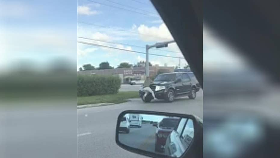Man punches car in road rage incident