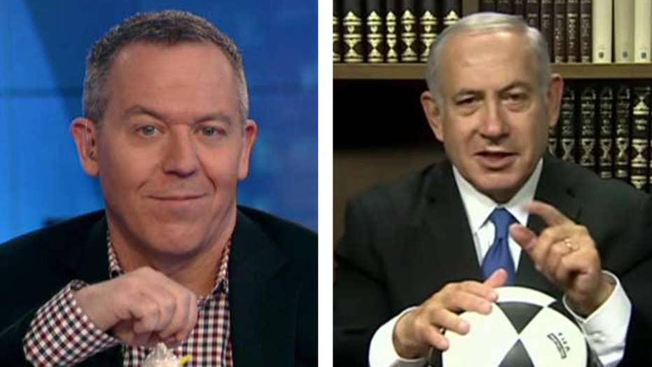 Gutfeld on Netanyahu's soccer video