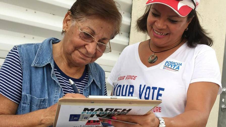 Hurricane Maria changed the electoral landscape in Florida's critical I-4 corridor with an influx of displaced Puerto Ricans who can now register to vote. Some influential community leaders open up about the power of the Puerto Rican vote.