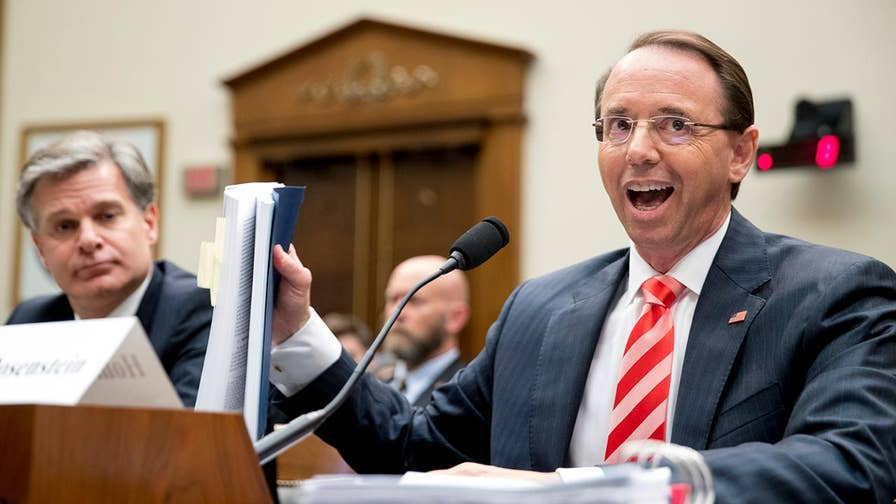 Deputy Attorney General Rod Rosenstein pushes back against attacks from Republican lawmakers; reaction and analysis from the 'Special Report' All-Stars.