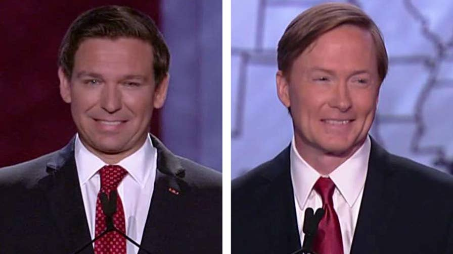 Florida Commissioner of Agriculture Adam Putnam and Rep. Ron DeSantis face off over the Supreme Court, relations with Russia, President Trump's agenda and endorsement and the current political climate in America.
