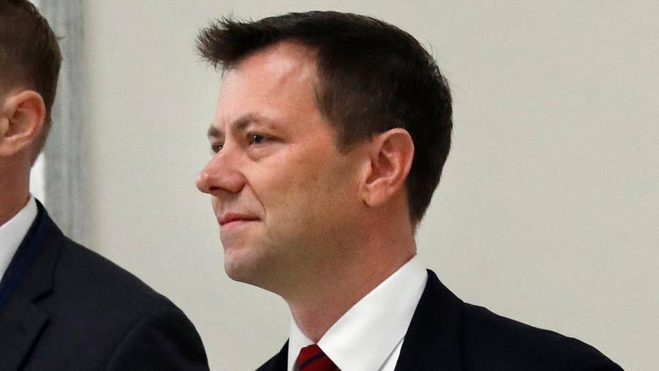 Strzok ducks questions on Clinton probe on Capitol Hill