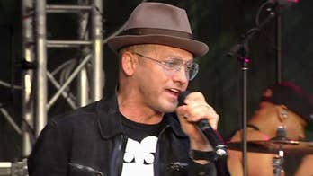 TobyMac performs 'Move (Keep Walkin') and 'Me Without U' on the 'Fox & Friends' plaza.