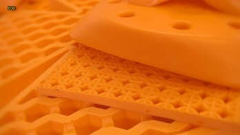 It's bright orange, it's squishy, it stretches like taffy — and it is unlike any body armor you've ever seen. Defense Specialist Allison Barrie gives an up-close look at a new orange goo, developed by D30, which is the key to ultra-lightweight body armor that can deliver incredible protection.