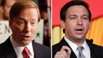 Adam Putnam tries to portray Ron DeSantis as an out-of-towner; Peter Doocy reports from Orlando, Florida.