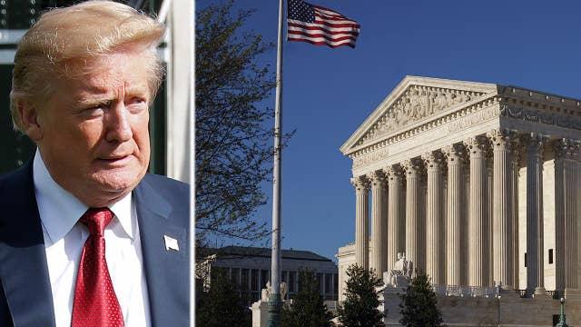 President Trump on Supreme Court candidates, Roe v. Wade