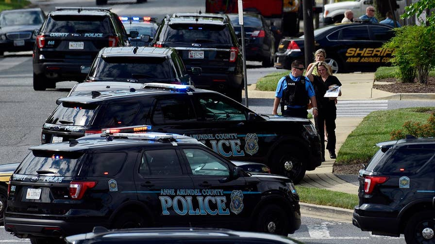 Suspect Jarrod W. Ramos being uncooperative with law enforcement investigation; Anne Arundel County Police Chief Timothy Altomare reacts.