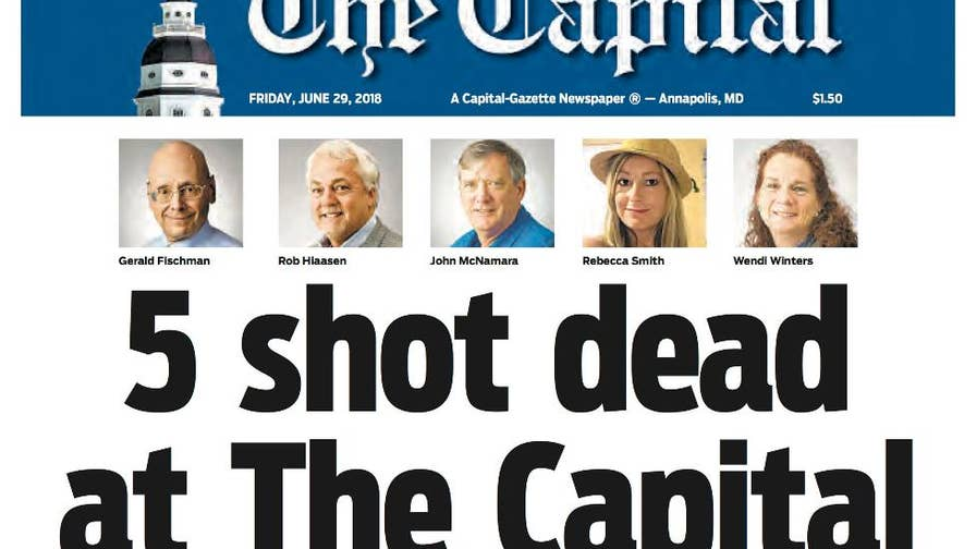 Suspect Jarrod Ramos is charged with first degree murder after killing five journalists in the Capital Gazette newsroom in Annapolis, Maryland. Here is everything you need to know about the latest mass shooting.