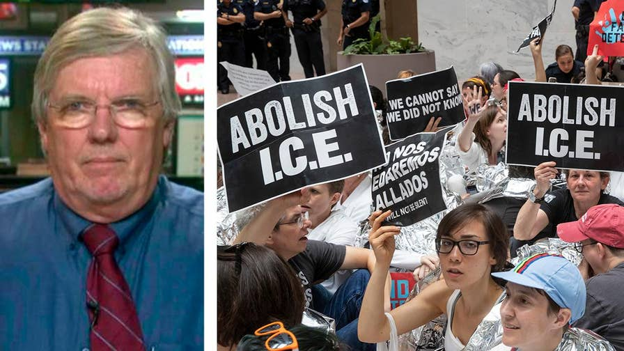 Growing number of Democrats call to abolish ICE.