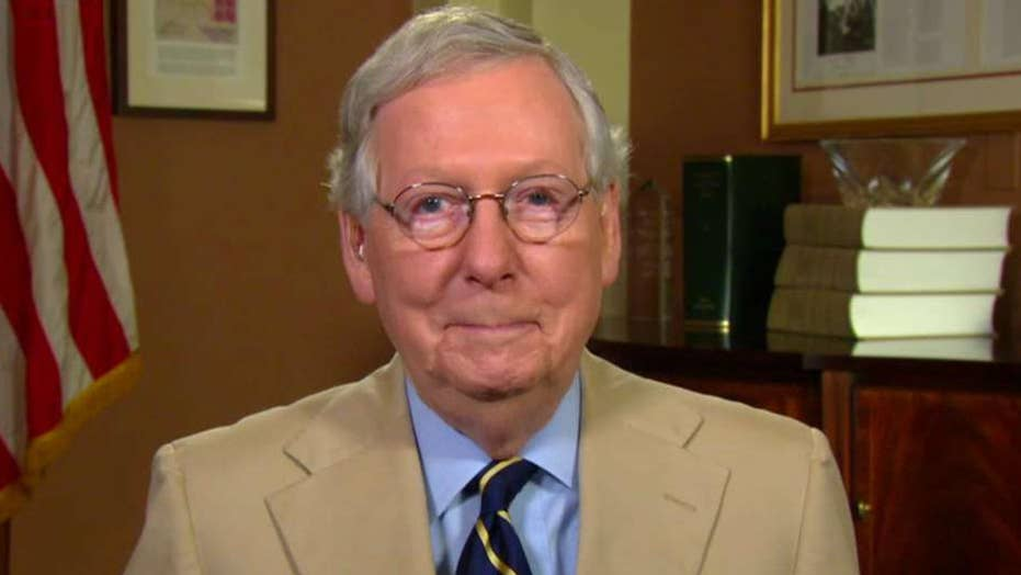 McConnell rejects claims of hypocrisy on Supreme Court vote