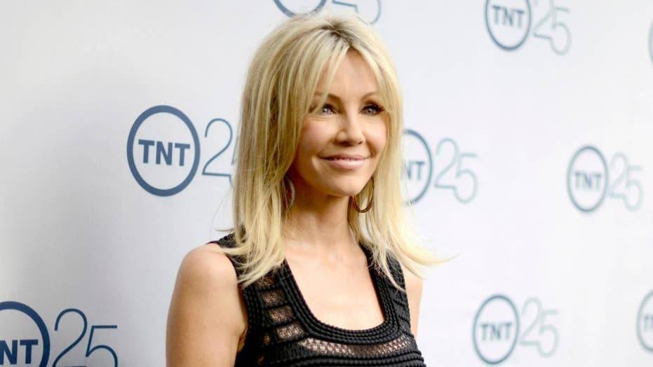 Point. Heather locklear see thru share