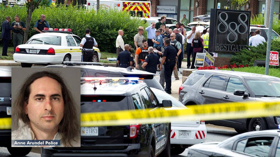 Newsroom shooting suspect charged with first-degree murder