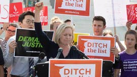 Gillibrand forced to defend past tough immigration stance after declaring her presidential bid