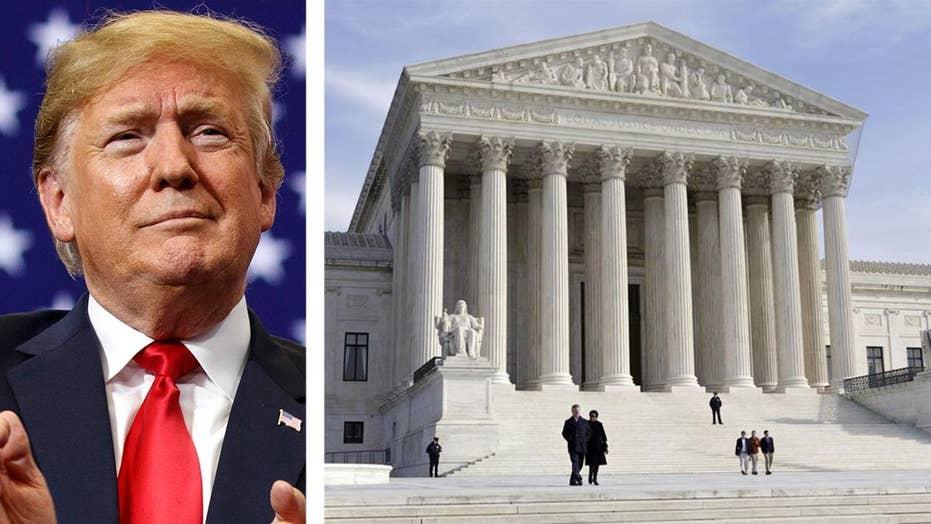 A look at Trump's potential SCOTUS picks