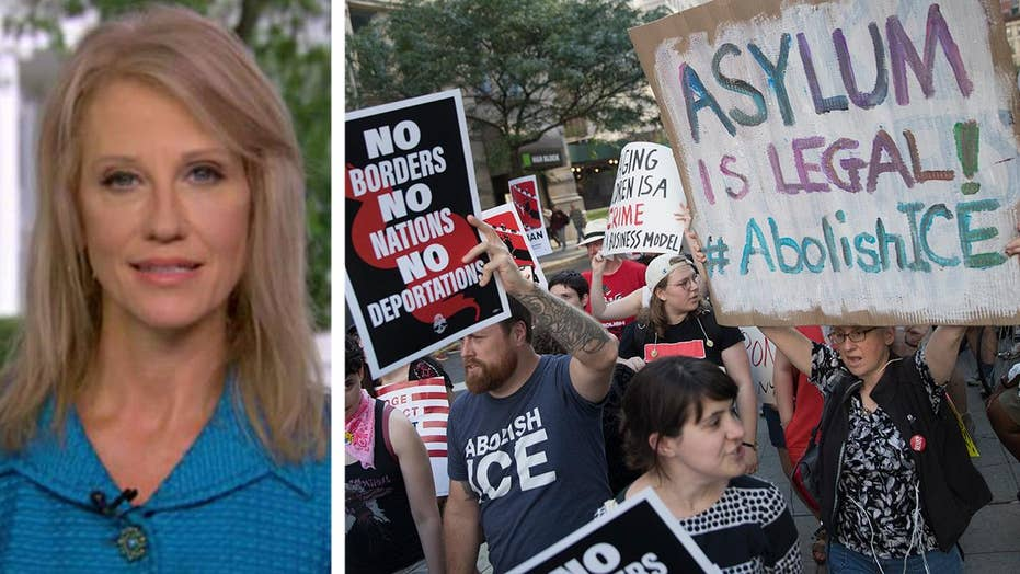 Kellyanne Conway on growing calls to abolish ICE