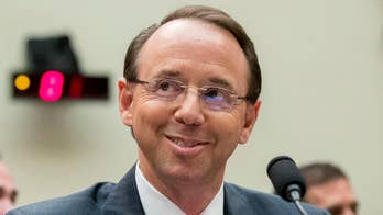 GOP lawmakers grill the deputy attorney general on Capitol Hill on his involvement in the probe.