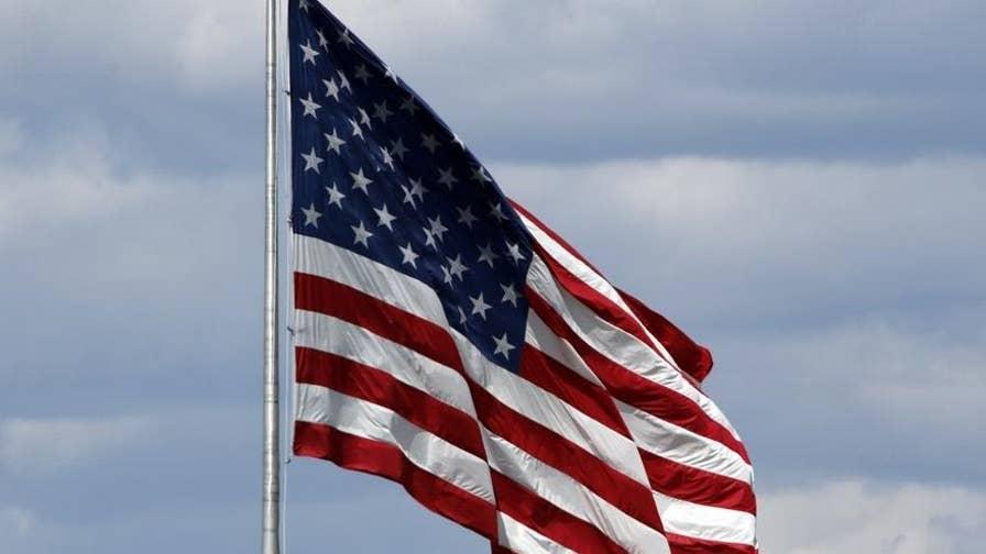 Wounded warrior Joey Jones puts patriotism in perspective amid political bickering.
