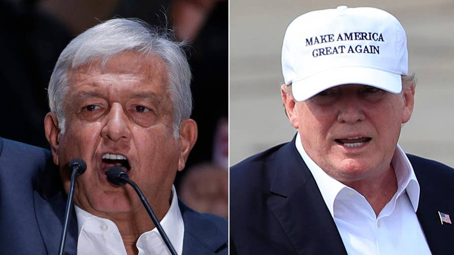 Andres Manuel Lopez Obrador, an outspoken critic of President Trump, sweeps to victory in Mexico; Dan Henniger, editorial page deputy editor at the Wall Street Journal and Fox News contributor, on what this means for key issues like trade and immigration.