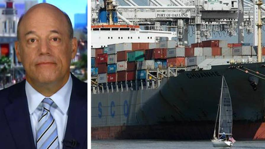 Fox News contributor says President Trump is taking a huge risk with trade.