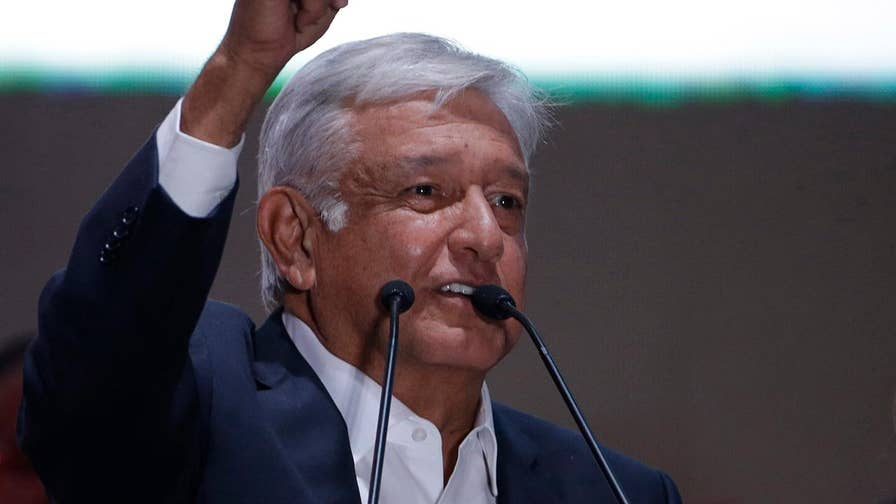 Fueled by anger and filled with hope, Mexican voters elected 64-year-old Andres Manuel Lopez Obrador; national correspondent William La Jeunesse reports from Mexico City.