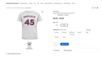 A 'Boycott Walmart' campaign has been launched after it was discovered the store was selling 'impeach 45' clothing on its website.