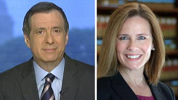'MediaBuzz' host Howard Kurtz weighs in on the media debate over US Circuit Judge, Amy Coney Barrett, as a potential pick for the Supreme Court to replace Justice Anthony Kennedy.