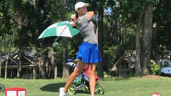 Teen uses golf to honor Army dad killed in combat