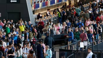 AAA: Record 3.8 million people expected to travel by plane for July 4th holiday. Claudia Cowan has the story.