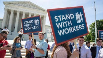 The Supreme Court rules that public employees can no longer be forced to pay union dues as a condition of employment; Dan Springer reports that getting the word out to employees may not be easy.